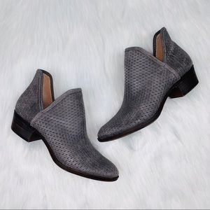 Lucky Brand Shoes - Lucky Brand Baley Bootie Ankle Perforated Leather